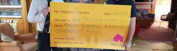 SPBF supports Maggies Centre