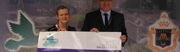 St Andrews Hospice receives support from SPBF